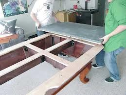 Pool table moves in Davenport Iowa