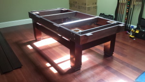 Correctly performing pool table installations, Davenport Iowa