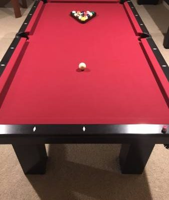 8 Foot Olhausen Slate Pool Table Waterproof Felt