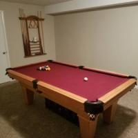 7' American Heritage Pool Table For Sale