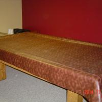 "8"" Slate bed pool table"